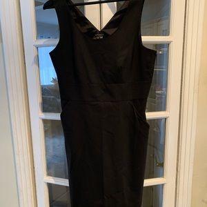 Theory black sleeveless dress. Size 10